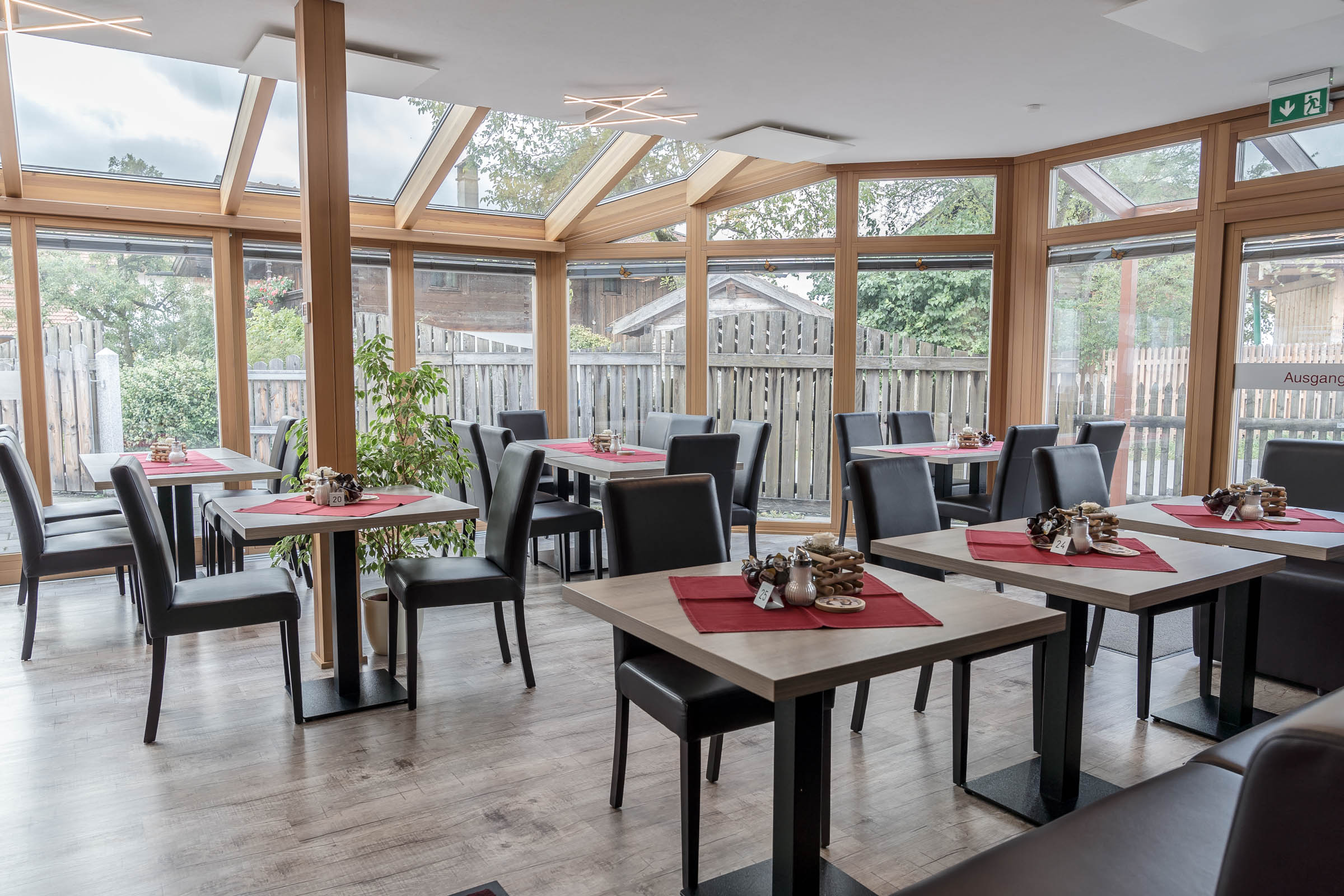Hotel Cafe Hanfstingl Speisesaal